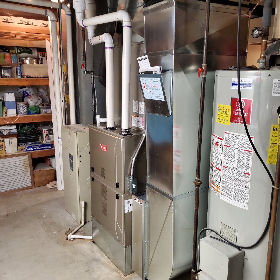 Clarkston, MI - Installed a 96% efficient Bryant evolution furnace