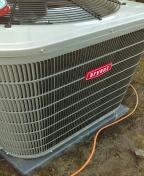 Rochester Hills, MI - Installed a 2 ton Bryant air conditioner