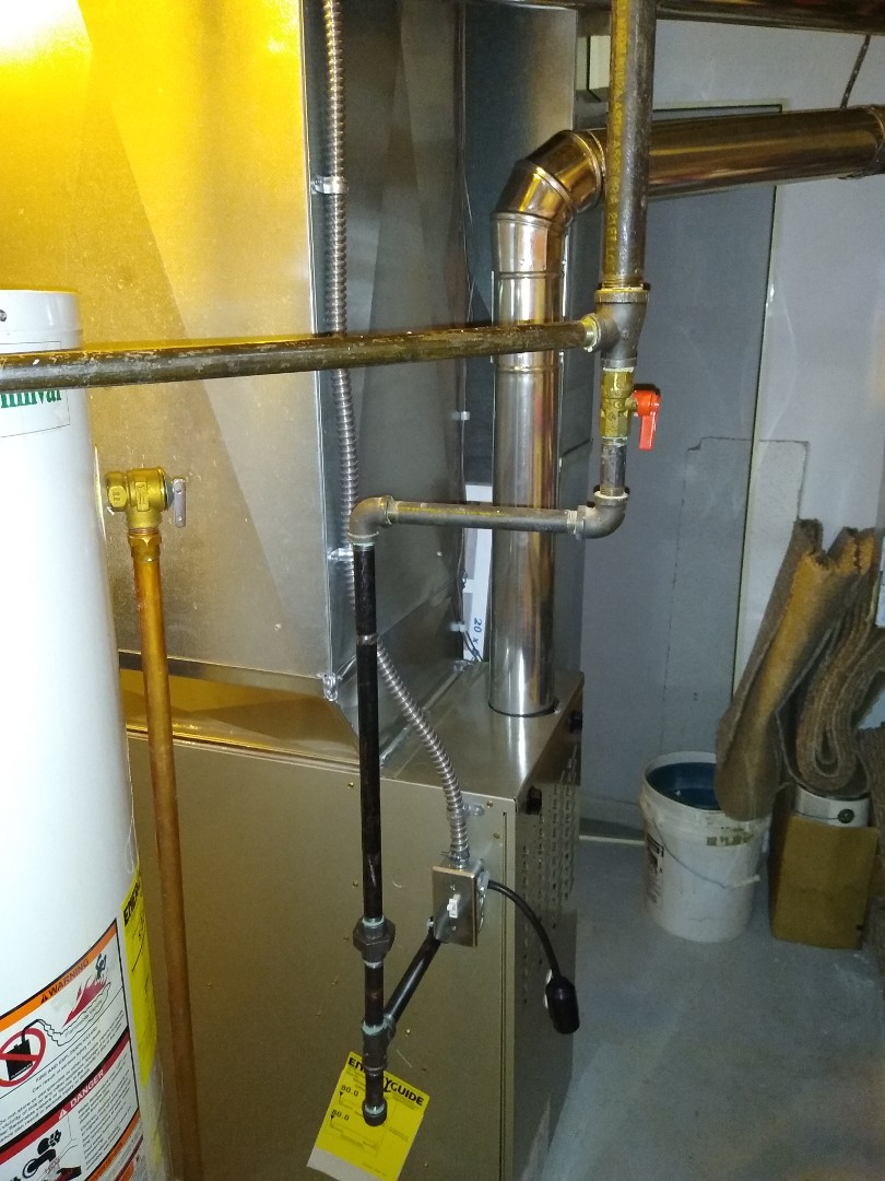 Installed a Payne 80% efficient furnace