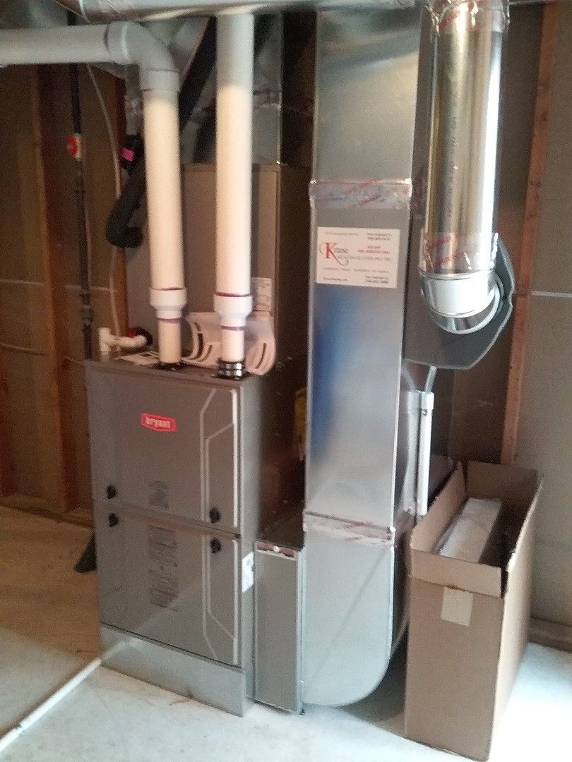 Bloomfield Hills, MI - Finished a complete Bryant Evolution system
