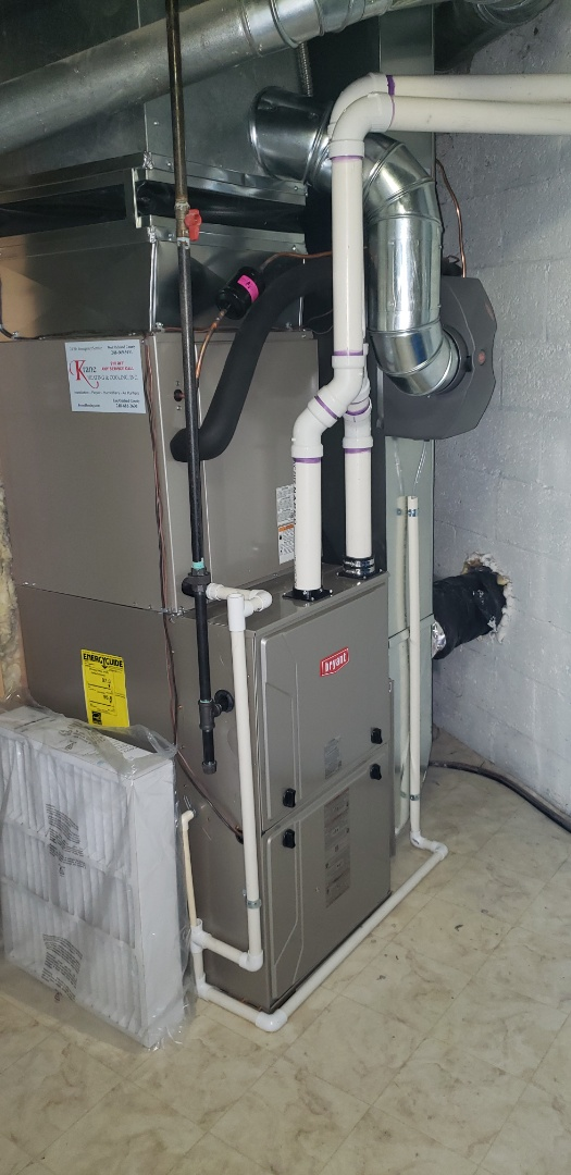White Lake charter Township, MI - Installed a complete Bryant Evolution system