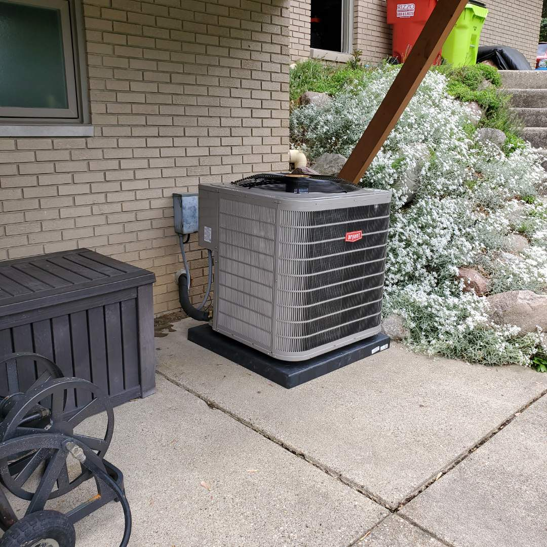 West Bloomfield Township, MI - Installed a Bryant air conditioned air
