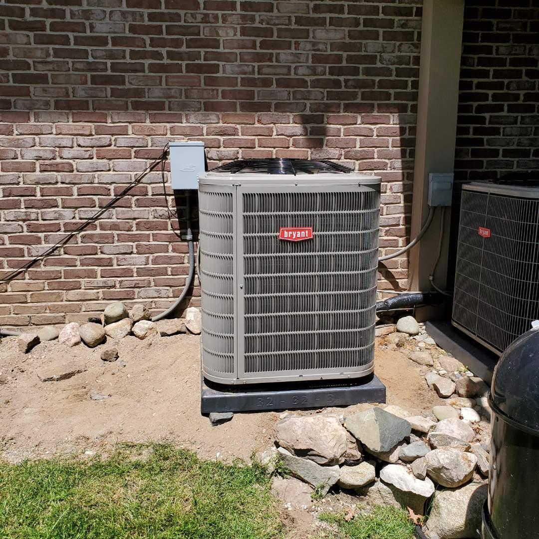 Clarkston, MI - Installed a Bryant air conditioner