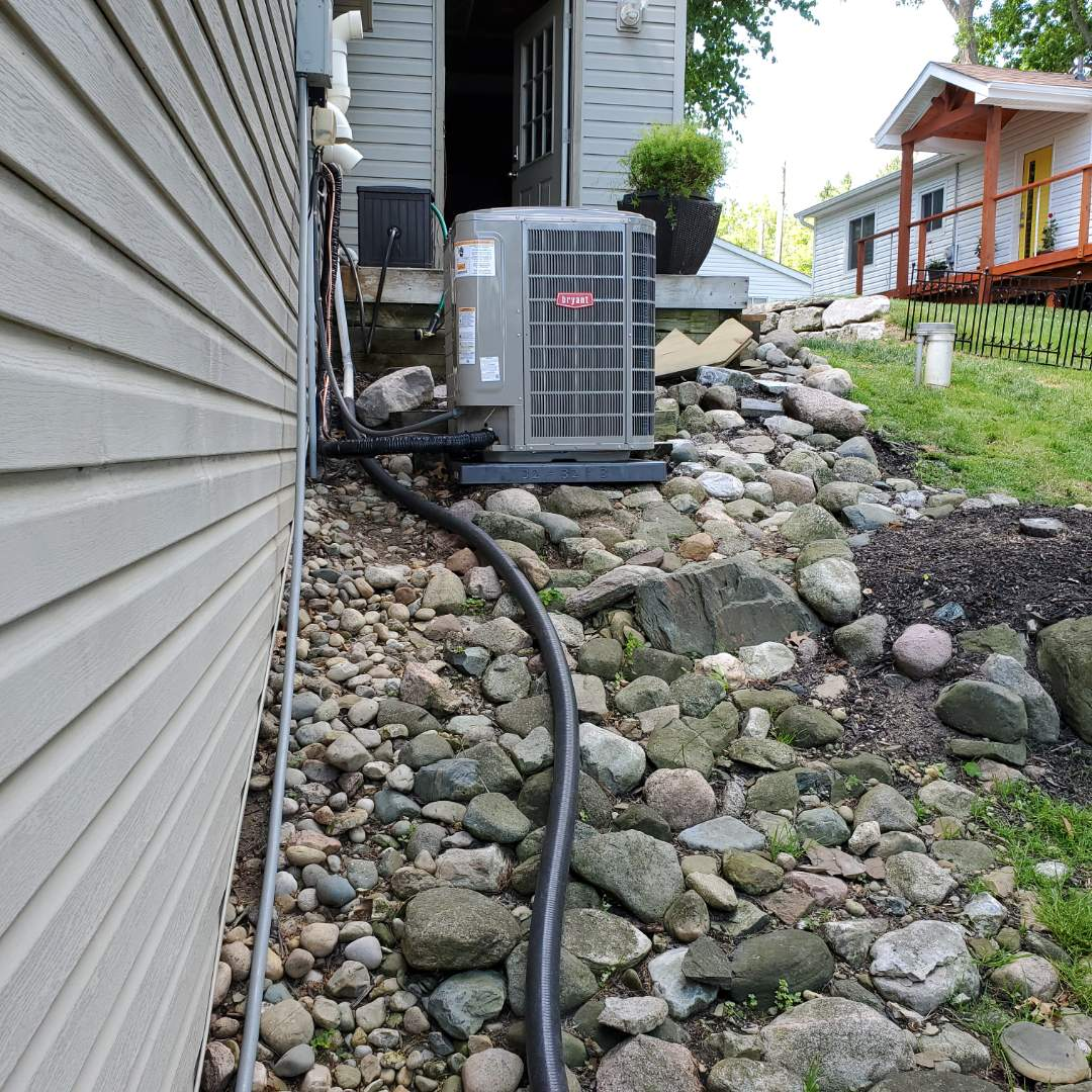 White Lake charter Township, MI - Installed a Bryant evolution air conditioner