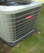 Commerce Charter Township, MI - Installed 4 ton Bryant air conditioner