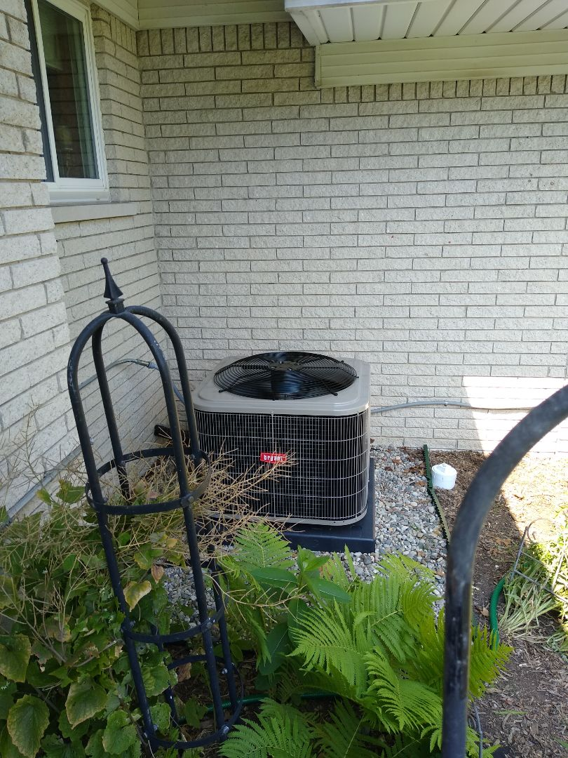 White Lake charter Township, MI - Installed a Bryant air conditioning system