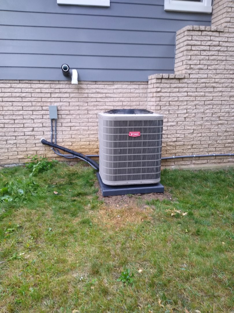Beverly Hills, MI - Installed a Bryant air conditioning system