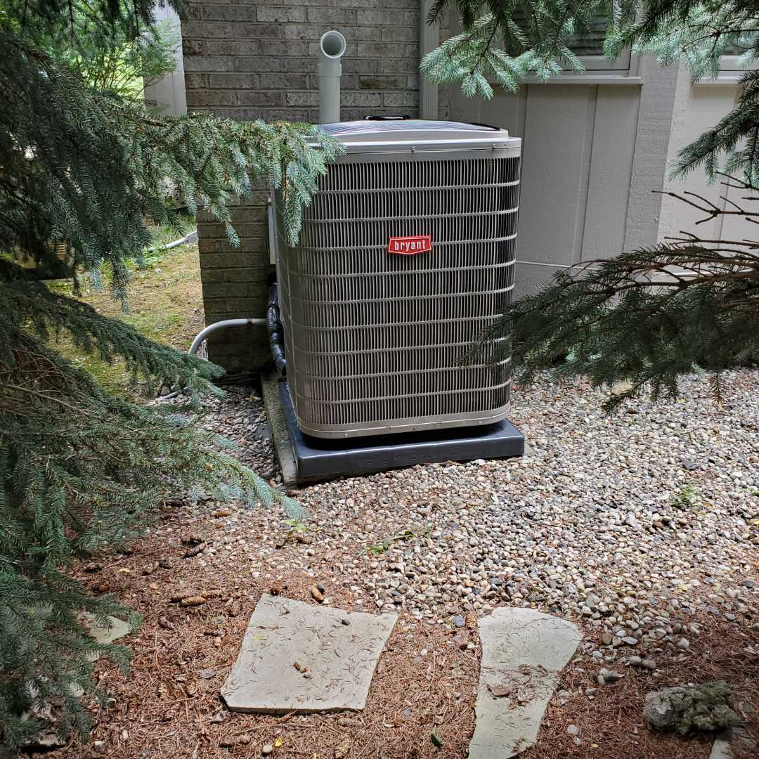 Install Bryant evolution air conditioner