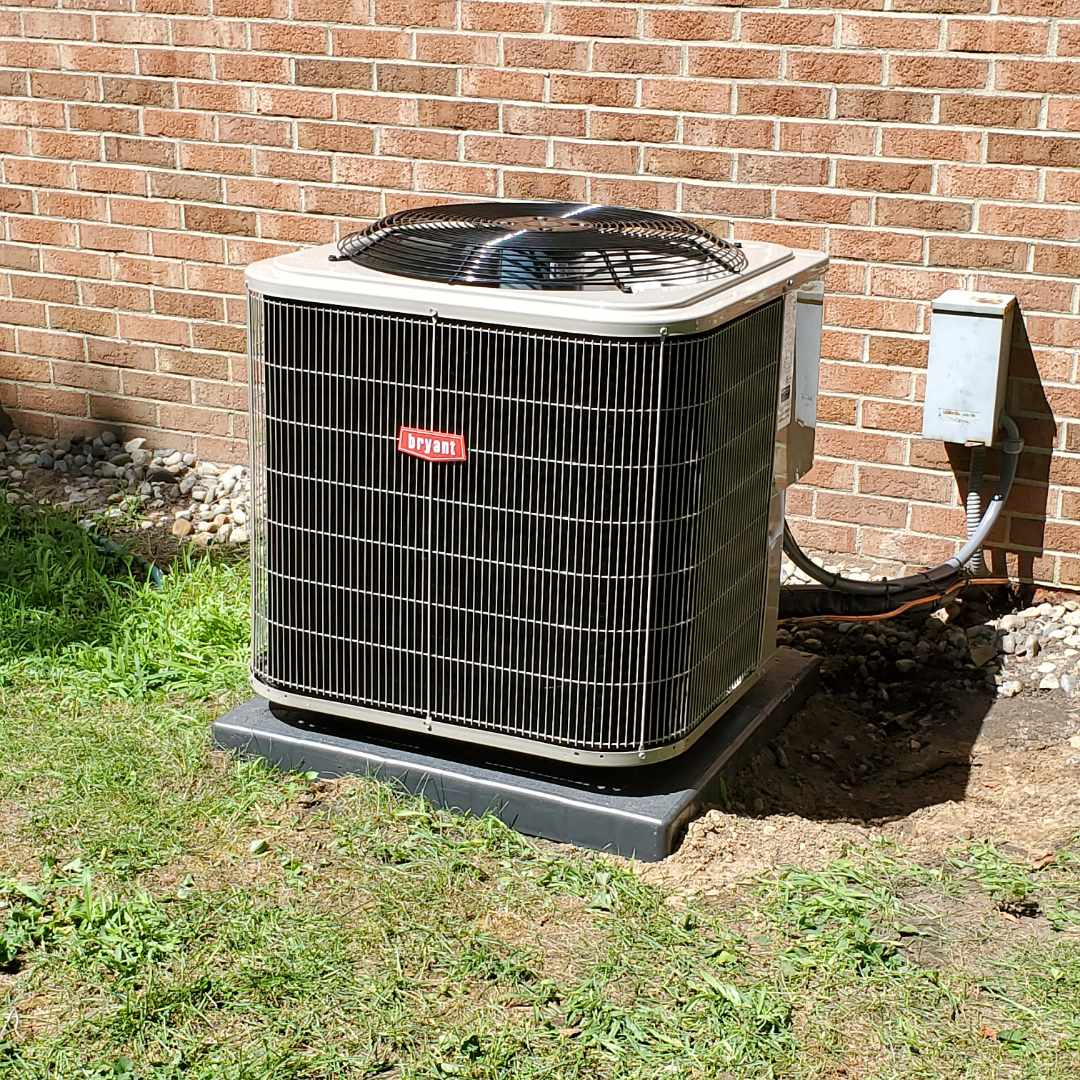 Installed a Bryant air conditioner