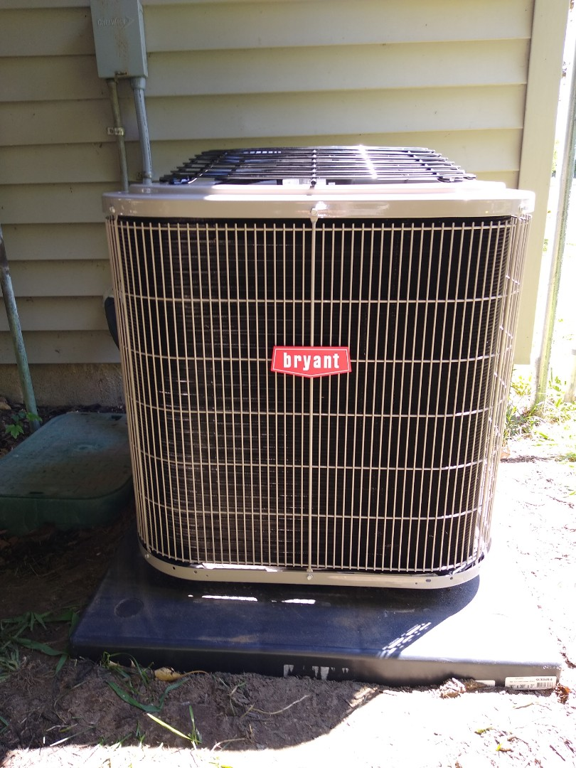 Holly, MI - Installed a Bryant air conditioning system