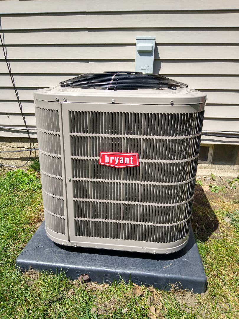 Auburn Hills, MI - Installed a Bryant air conditioning system