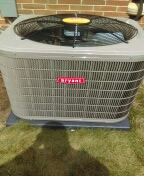 West Bloomfield Township, MI - Installed 100000 Bryant furnace and a three and a half ton Bryant air conditioner