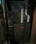 Installed a 90% efficient Bryant furnace