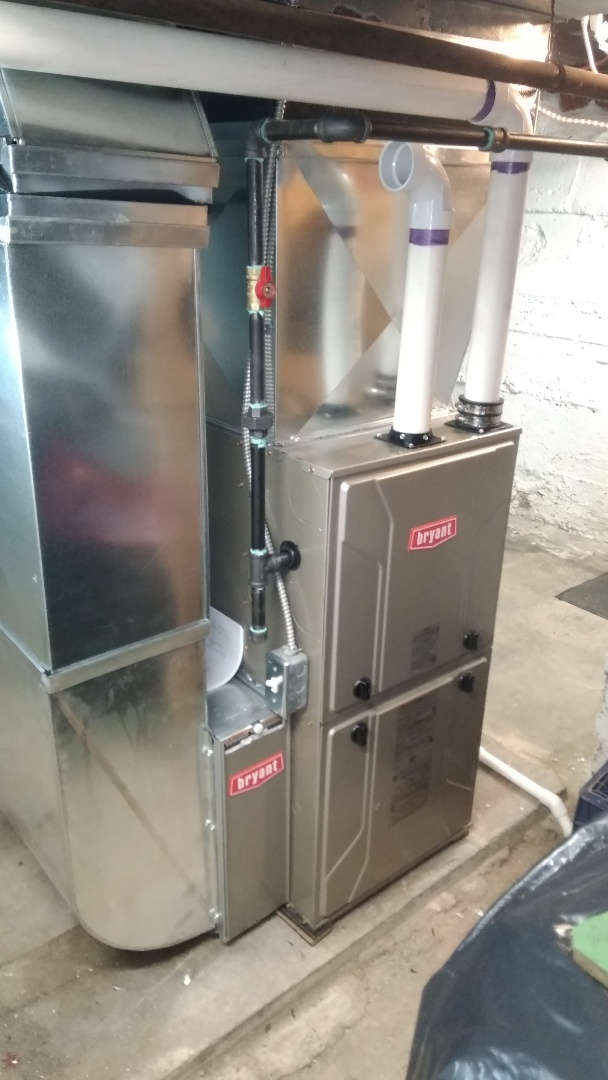 Holly, MI - Installed a 60000 BTU Bryant high efficient furnace