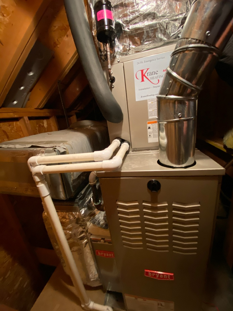 Waterford Township, MI - Install a 80% efficient Bryant furnace