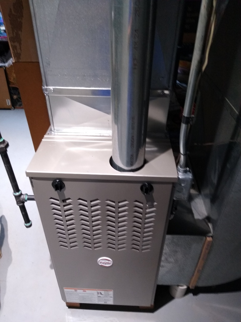 Waterford Township, MI - Installed a Payne 80% efficient furnace