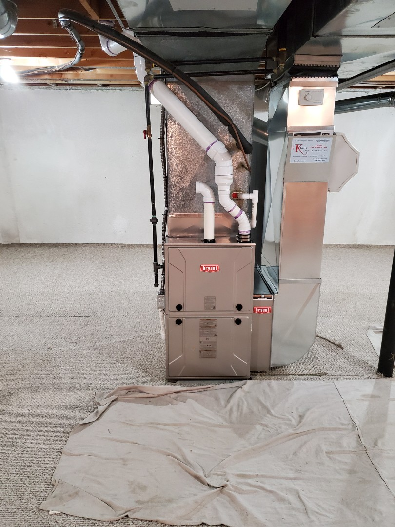 Orion charter Township, MI - Install A 96% efficient  Bryant furnace