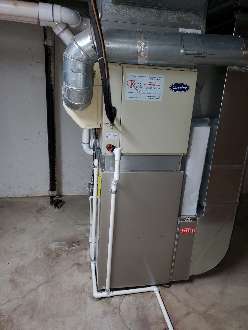Rochester Hills, MI -  Install a 96% efficient Bryant evolution Furnace