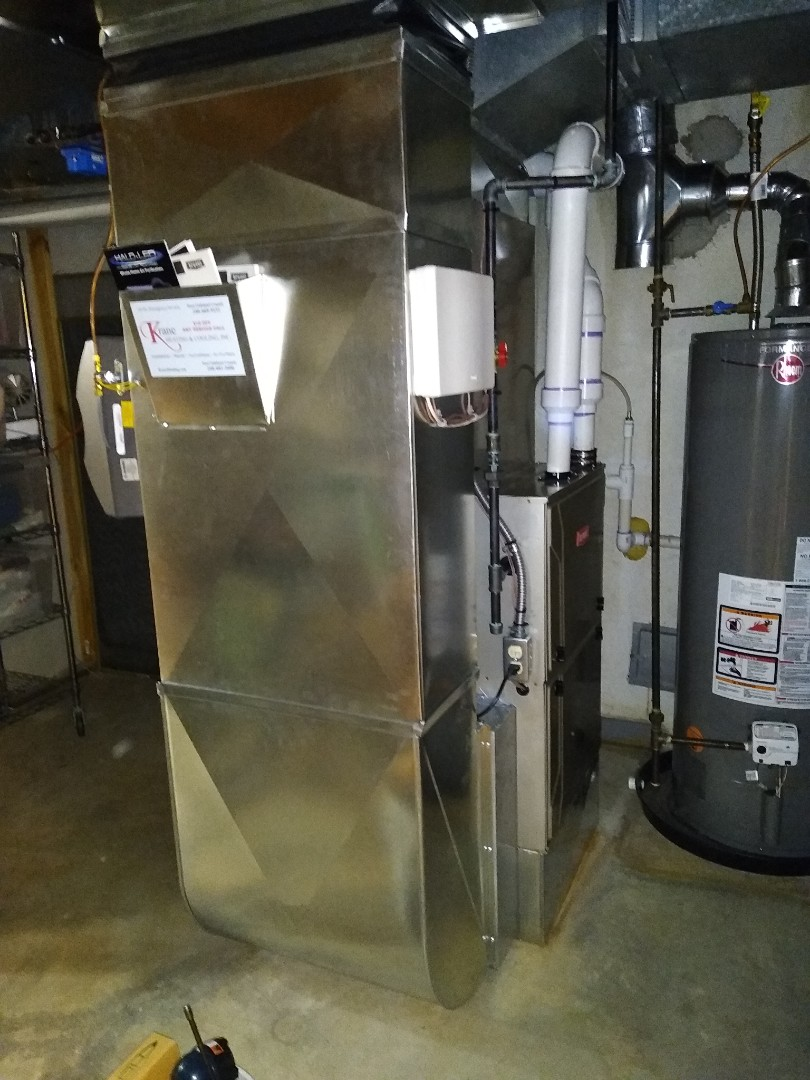 West Bloomfield Township, MI - Installed a Bryant evolution furnace and air conditioner