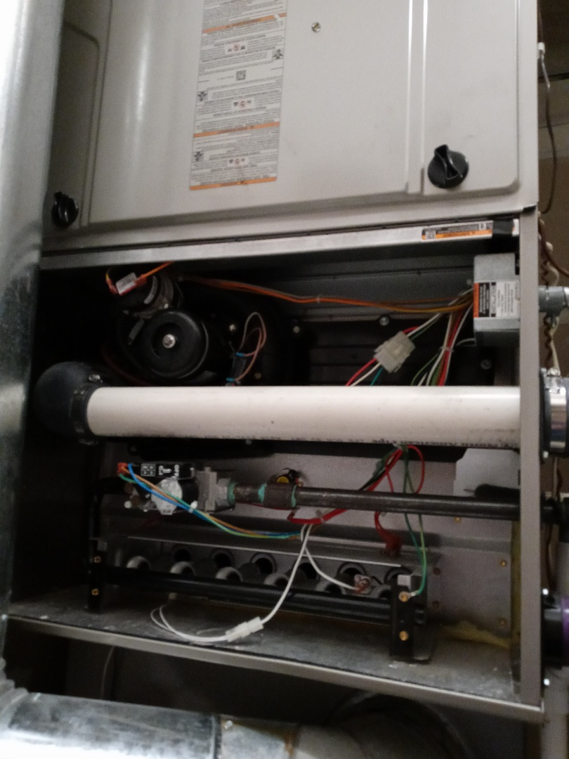 Maintenance on two Bryant furnaces