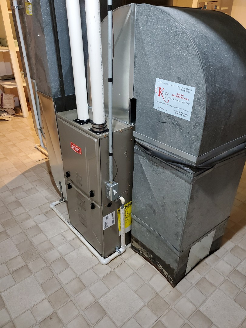 Install the 96% efficient Bryant furnace