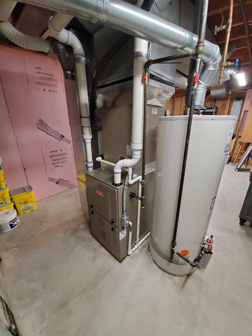 Install a evolution 96% efficient Bryant furnace