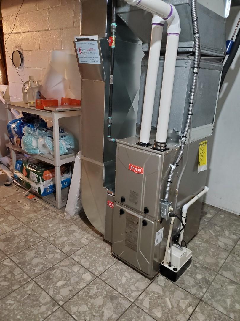 Farmington, MI - Install a 96% efficient Bryant furnace