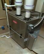 Clarkston, MI - Installed a 96% efficient Bryant furnace