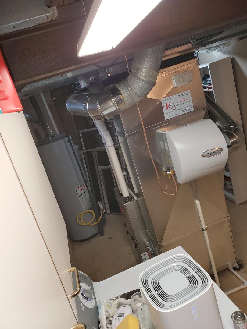 Clarkston, MI - Install a 96% efficient Bryant furnace