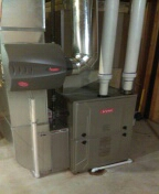 Beverly Hills, MI - Installed a 96% efficient Bryant furnace