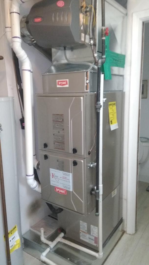 West Bloomfield Township, MI - Installed an 80000 BTU Bryan Evolution furnace