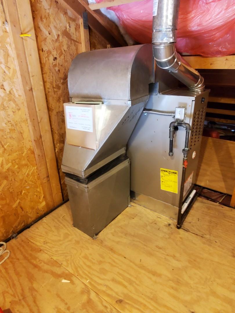 Install a 80% efficient payne furnace