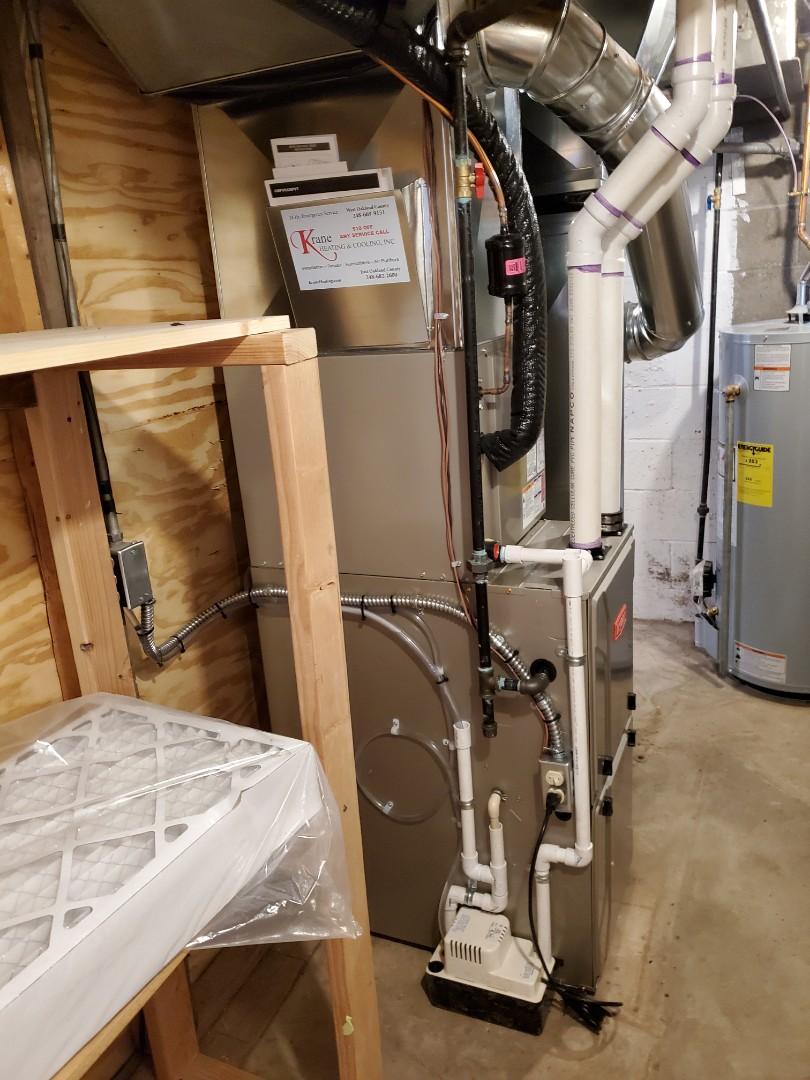 Royal Oak, MI - Install a 96% efficient Bryant furnace
