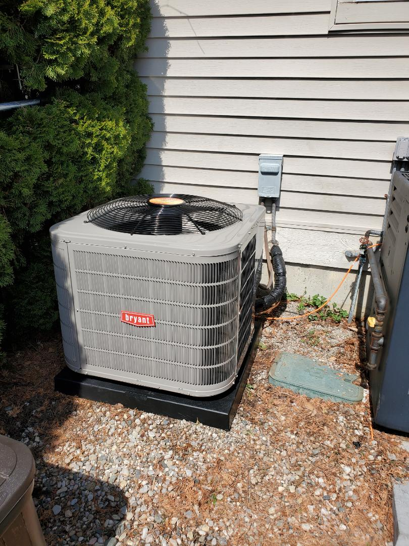 Waterford Township, MI - Install the Bryant air conditioner