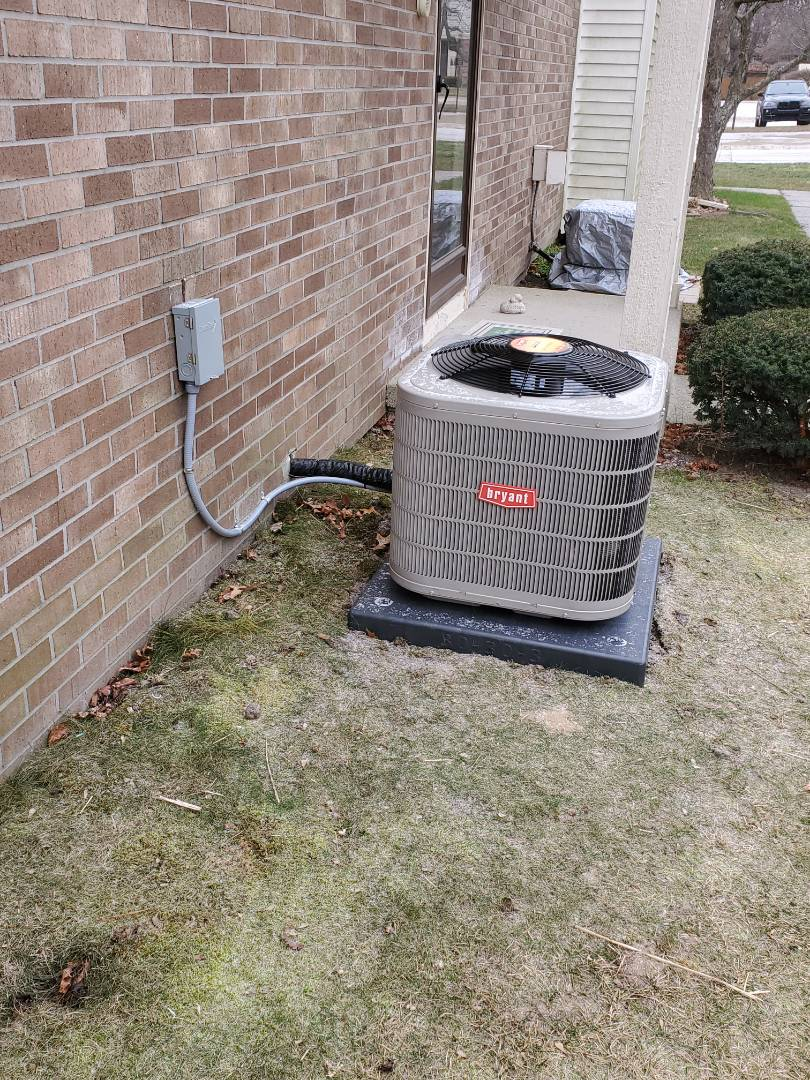 Install a brand air conditioner