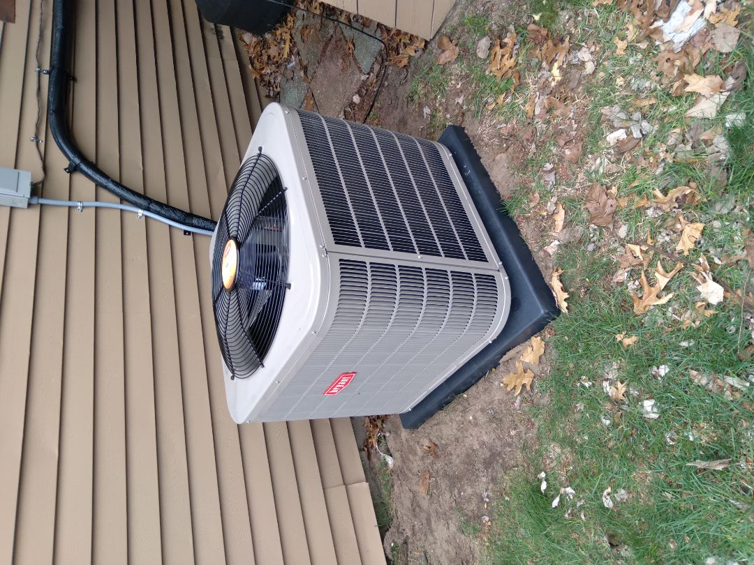 Holly, MI - Installed a 3 ton 13 Seer Bryant air conditioner