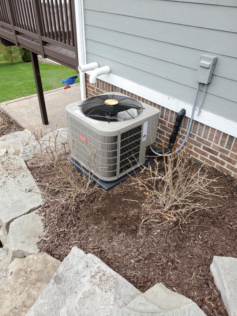 Clarkston, MI - Install a Bryant air conditioner