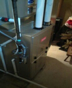 Installed a 98% efficient Bryant furnace