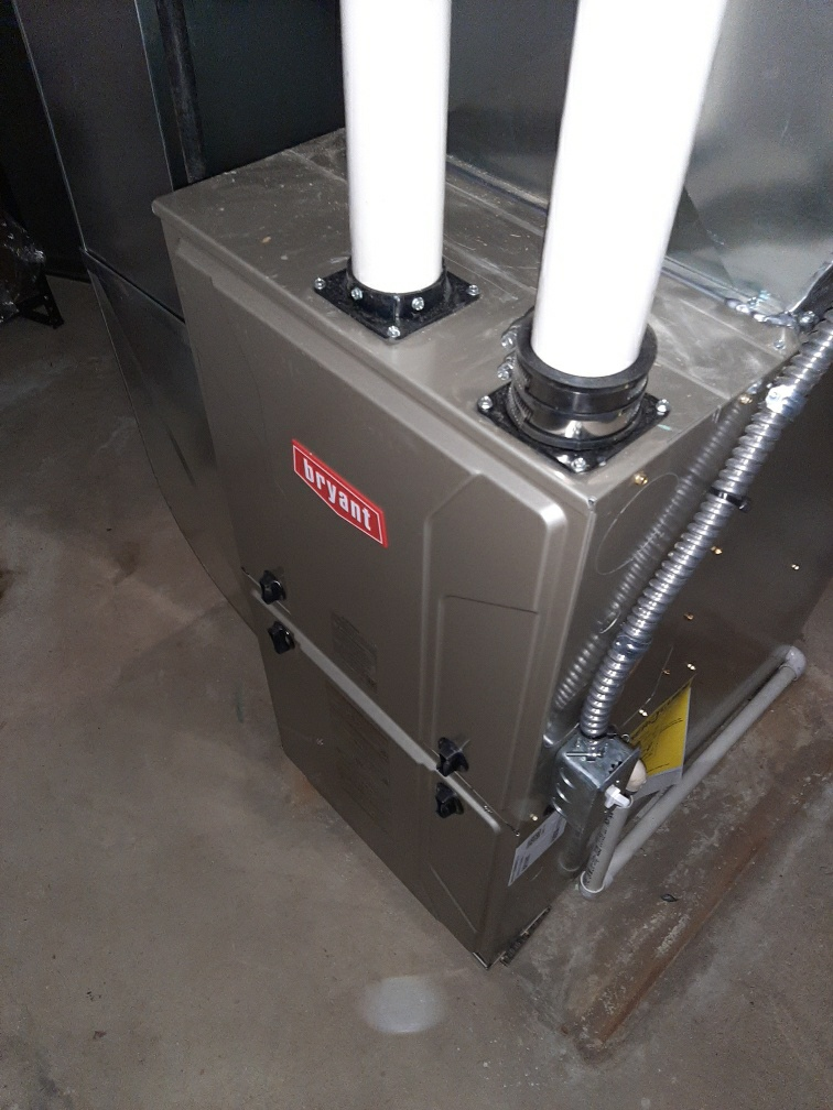 West Bloomfield Township, MI - Installed an 80000 BTU Bryant high efficient furnace