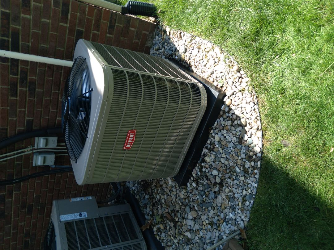 Waterford Township, MI - Installed a three-and-a-half ton Bryant air conditioner