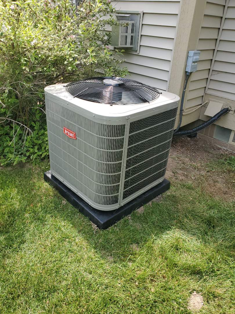 White Lake charter Township, MI - Install a Bryant air conditioner