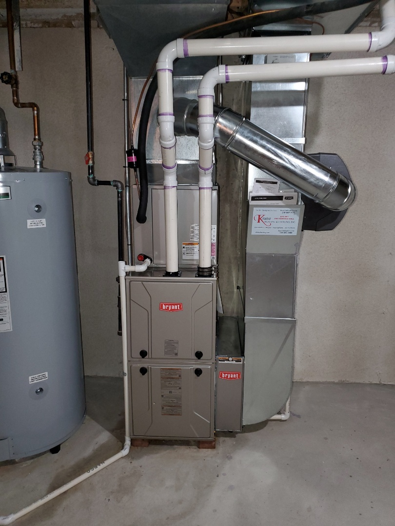 White Lake charter Township, MI - Install a Bryant 96% efficient furnace