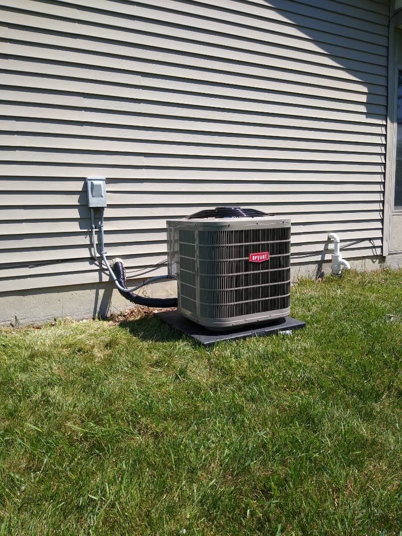 Waterford Township, MI - Installed a Bryant central air conditioning system