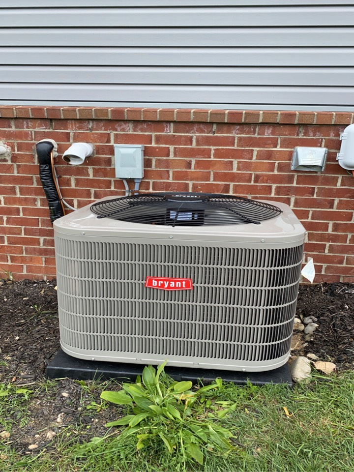 White Lake charter Township, MI - Installed a 3 ton Bryant air conditioner