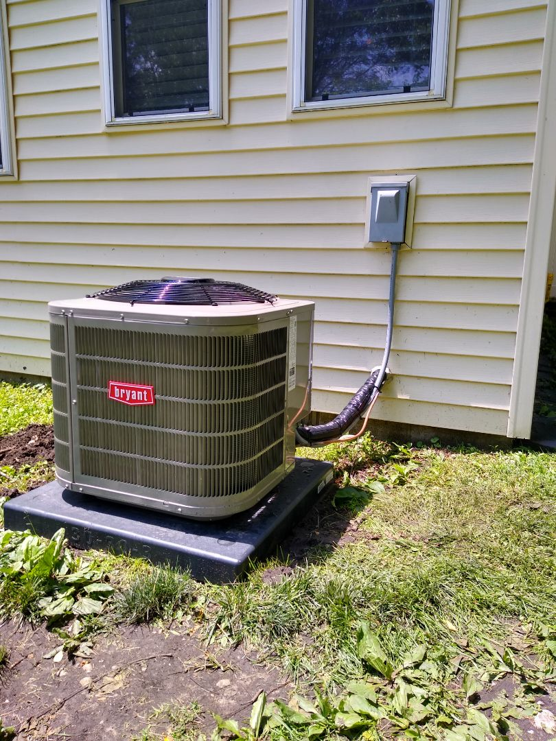 West Bloomfield Township, MI - Installed a Bryant central air conditioning system