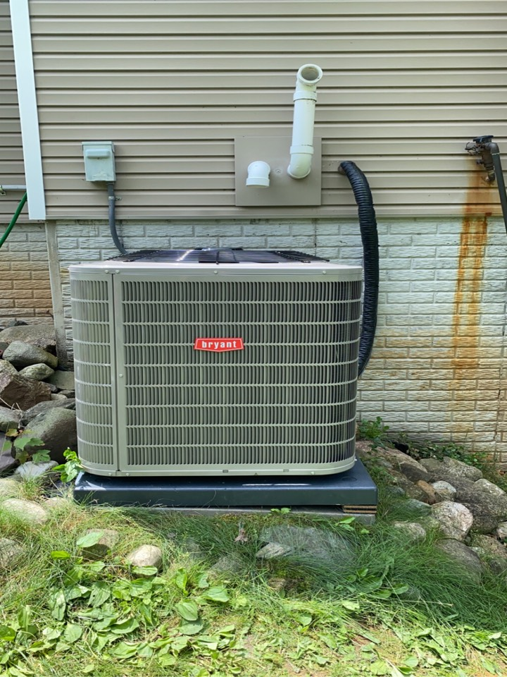Installed a 5 Ton Bryant air conditioner