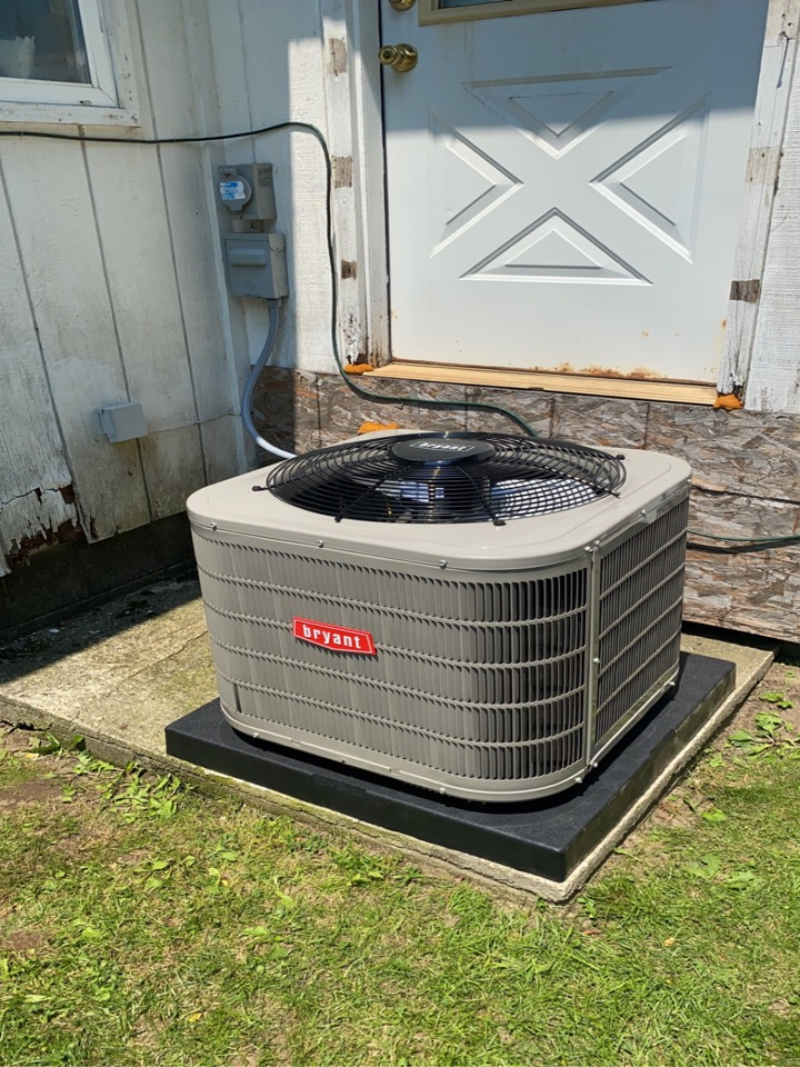White Lake charter Township, MI - Installed a Bryant 2 ton air conditioner