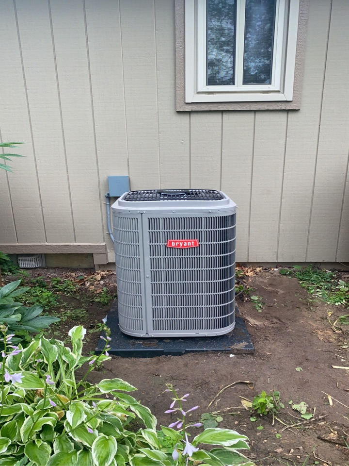 Installed a 3 ton Evolution Bryant air Conditioner
