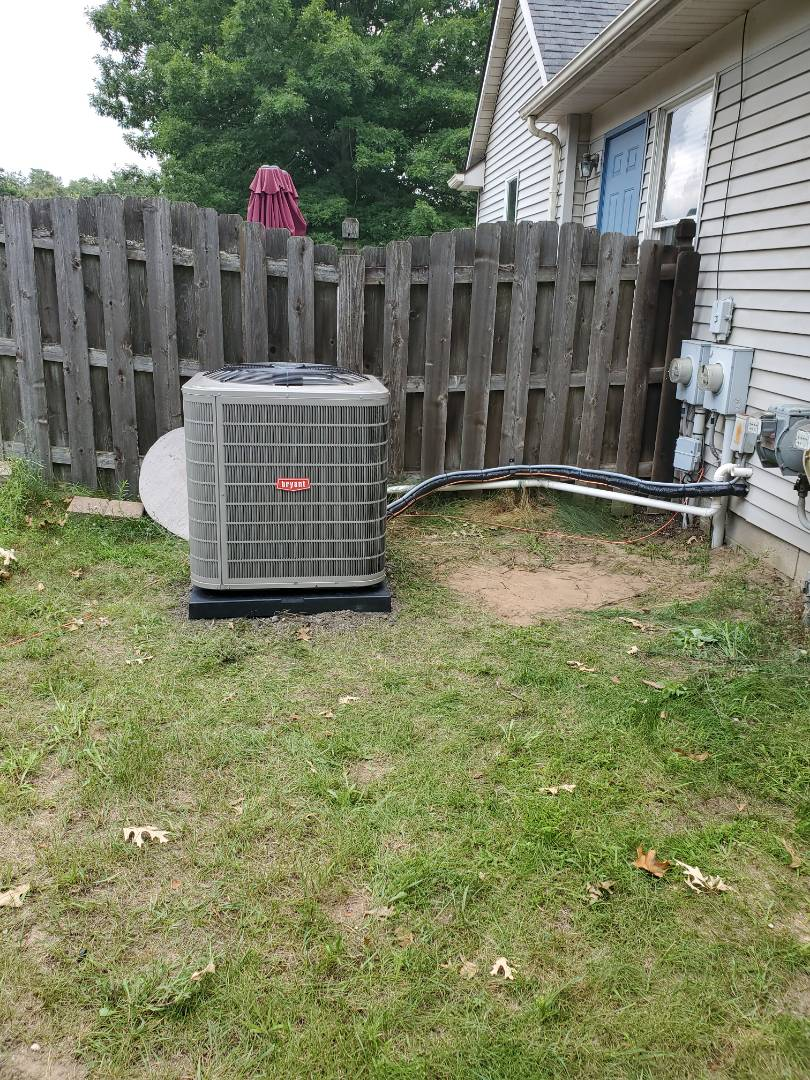 Commerce Charter Township, MI - Install a Bryant air conditioner