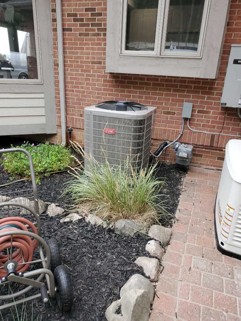Install a Bryant air conditioner